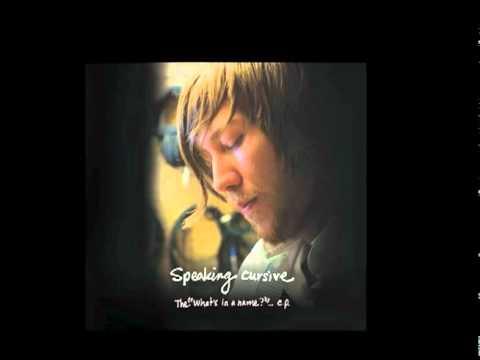 Speaking Cursive-Tell Me Love
