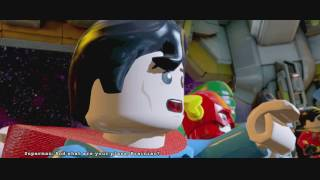 LEGO Batman 3: Beyond Gotham ~ Level 5: The Big Grapple (Story Mode Guide)