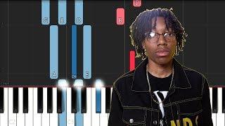 Lil Tecca - Did it Again (Piano Tutorial)