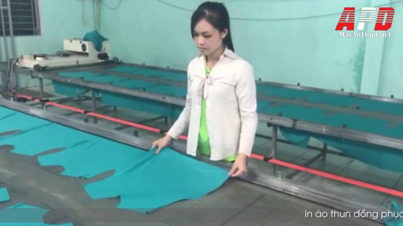 In áo thun công ty phân bón nông trại 3F HITECH