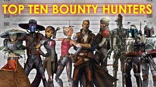 Top Ten Bounty Hunters | Star Wars