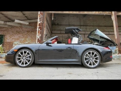 10 Things You Need to Know About the 2015 Porsche 911 Targa 4 GTS Video Review