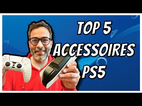 Top 5 des meilleurs accessoires PS5