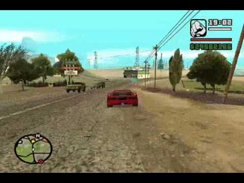 GTA San Andreas: All Main Secret Cars.
