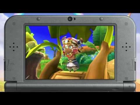 Видео № 1 из игры Ever Oasis (Б/У) [3DS]