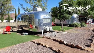 EPIC Motel made of Vintage Trailers! The Shady Dell!