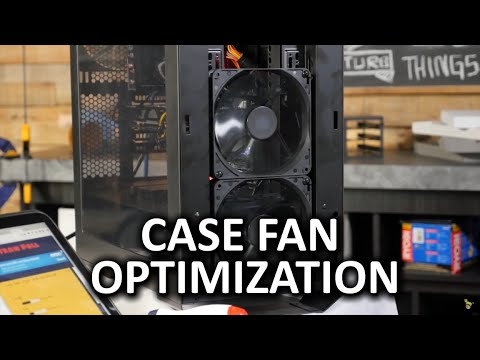 You Probably Only Need Two Or Three Fans In Your Computer