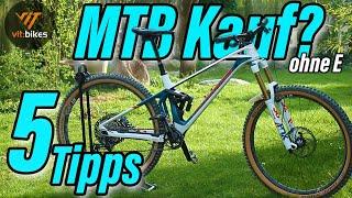 5 Tipps für den MTB Kauf [ohne E] - vit:bikesTV