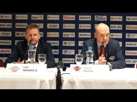 Пресс-конференция - «Динамо» Рига 5:4 (ОТ) «Автомобилист» (29.10.15)