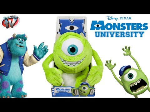 Monsters University Mike Wazowski 25cm Plush Toy Review, Spin Master