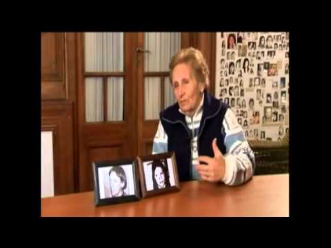 <p>La abuela Angélica Chimeno de Bauer fue la responsable de la filial de Ayacucho de Abuelas. Su nieta Evelin fue localizada en 1999 y el  22 de abril de 2008 el BNDG confrmó que se trataba de la hija de Rubén Bauer y Susana Pegoraro. La abuela Angélica falleció el 30 de julio de 2014.</p>