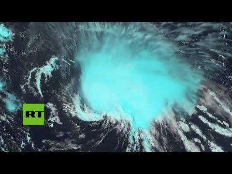 Se forma el poderoso huracán Florence que azotará la costa este de EE.UU.