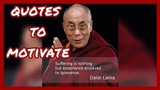 Dalai lama quotes how to live a good life | motivational quotes.