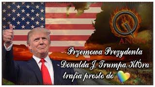 | Przemowa Prezydenta Donalda J. Trumpa, Która Trafia Prosto do Serca! | Napisy PL |