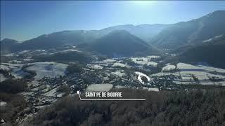 Drone dji phantom 3 adanced cinematic winter