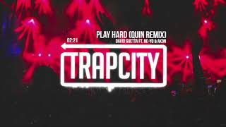 David Guetta ft. Ne-Yo & Akon - Play Hard (Quin Remix) [Lyrics]