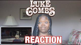 Luke Combs  Must've Never Met You REACTION!!!