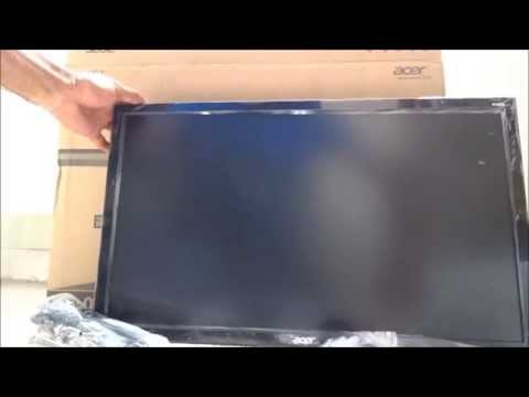 Unboxing and review of Acer K242HLABID 24 Inch HDMI LED Monitor