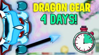 Starve.io - How To Make DRAGON GEAR in 4 DAYS!❄️