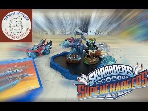Видео № 2 из игры Skylanders SuperChargers Racing Стартовый Набор [3DS]