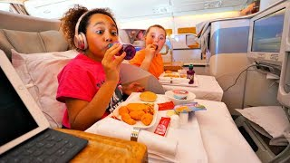 GOING ON HOLIDAY TO DUBAI Business Class Airplane Flight!!