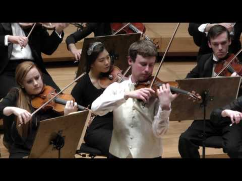 Enjoy the second movement of the Brahms violin Concerto