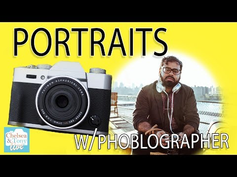 PORTRAITS with The Phoblographer! (TC LIVE)