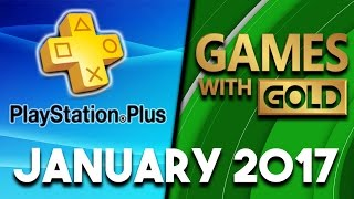 PlayStation Plus VS Xbox Games With Gold (January 2017)