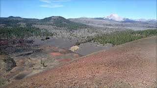 360 degree panorama from the top of Cinder Cone