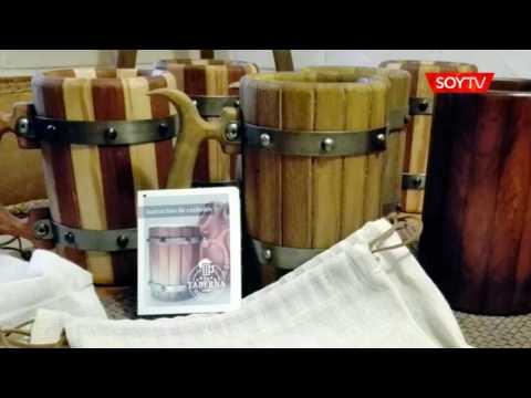 Estudió electricidad y tras 59 años pudo realizar su sueño: fabricar jarras al estilo medieval