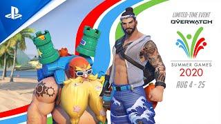 PlayStation Overwatch - Summer Games 2020 | PS4 anuncio