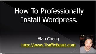 How To Install Wordpress Manually - Step by Step Professional Wordpress Installation