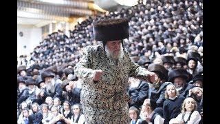 שמחת בית צאנז | האדמו״ר מויז׳ניץ - מצווה טאנץ - תשע״ח | Viznitz Rebbe Dancing Mitzvah Tantz
