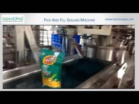 Pick And Fill Sealing Machine