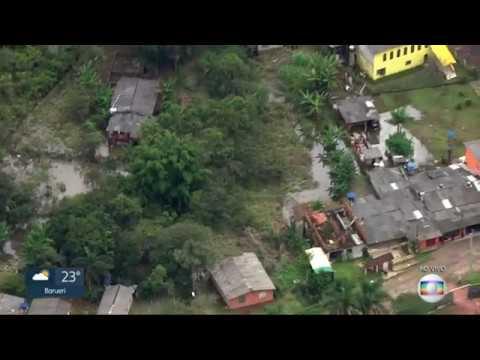Sptv da Globo mostra como ficou o Juquiazinho depois da Enchente