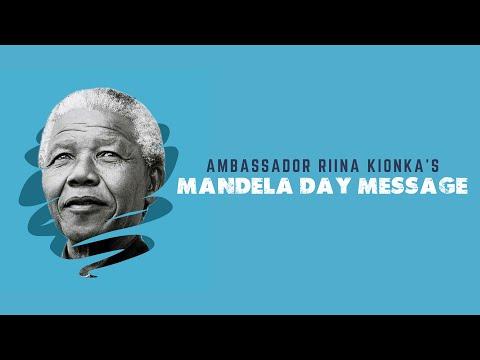 Ambassador Riina Kionka's Nelson Mandela Day Message