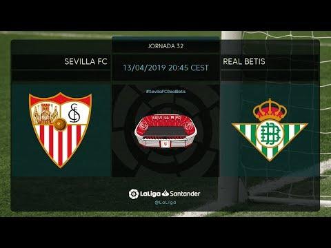 Calentamiento Sevilla Fc vs Real Betis