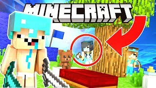 MINECRAFT BABY BED WARS! THEY CAN