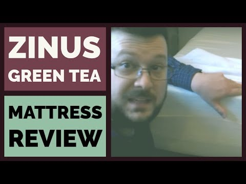 Zinus Green Tea Mattress Review & Test – 12 inch