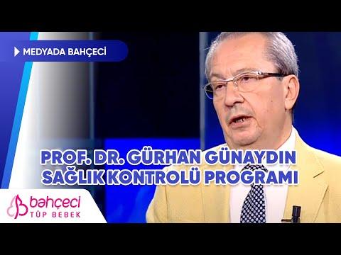 CNN Türk – Prof. Dr. Gürhan Günaydın Sağlık Kontrolü Programı