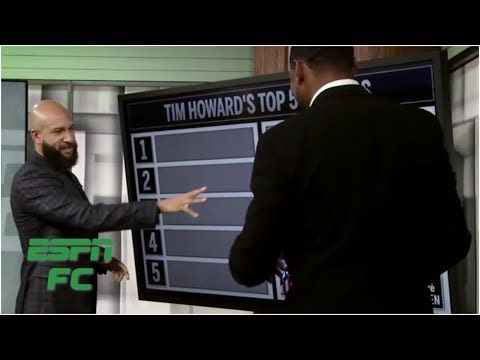 Tim Howard ranks the top five goalkeepers in the world | ESPN FC