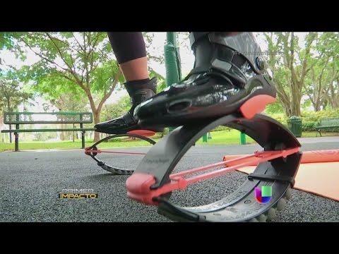 Unas novedosas botas que ayudan a bajar de peso causan furor entre hombres y mujeres
