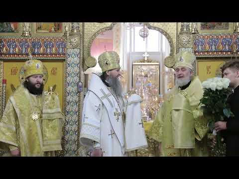 Митрополит Даниил встретил своё 60-летие Литургией в Александро-Невском соборе Кургана