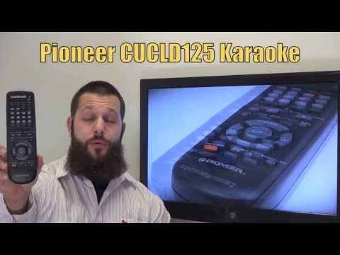 PIONEER CUCLD125 Remote Control