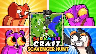 Scramble Craft SCAVENGER HUNT! (Minecraft)