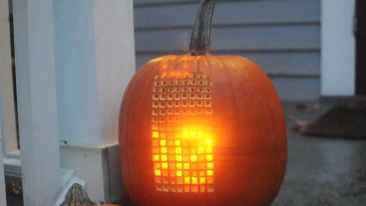 You Can Play This Tetris Pumpkin With Its Joystick Stem
