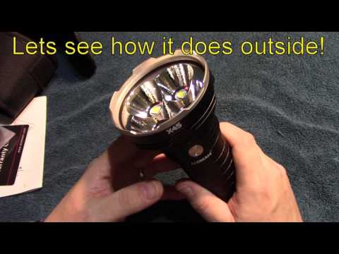 AceBeam X45 flashlight review!