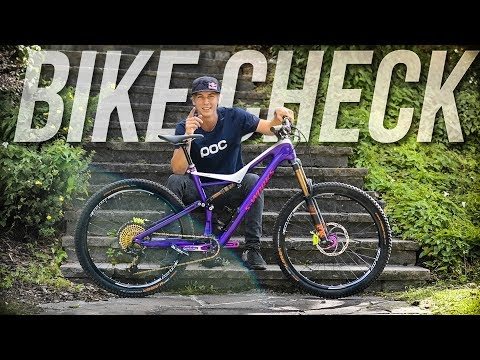 The Urban Freeride Machine – Bike Check Fabio Wibmer 2017