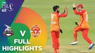 Full Highlights | Lahore Qalandars vs Islamabad United | Match 20 | HBL PSL 6 | MG2T