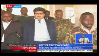 Tribunal investigating Judge Joseph Mutava recommends his removal, KTN Prime 21st September 2016